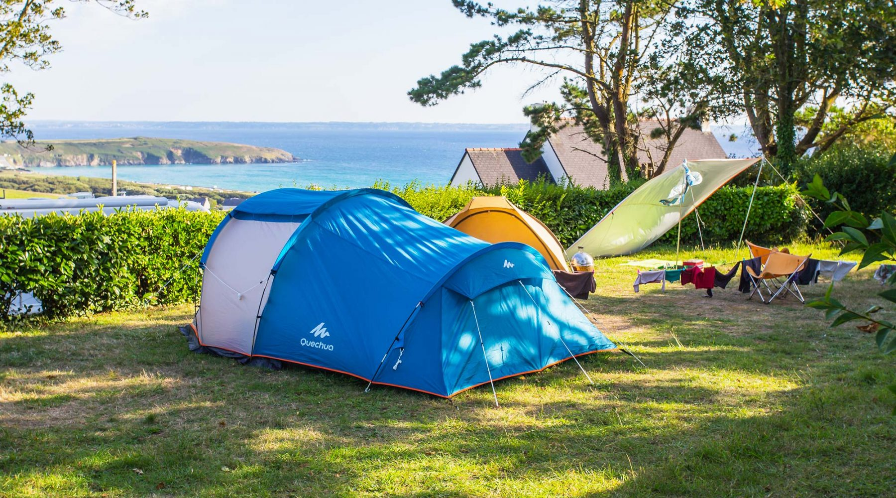 Emplacement Vue Mer Camping Crozon Le Panoramic