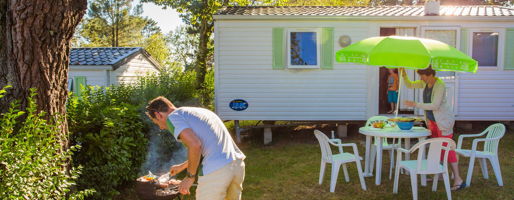 Location mobil home presqu'ile de Crozon