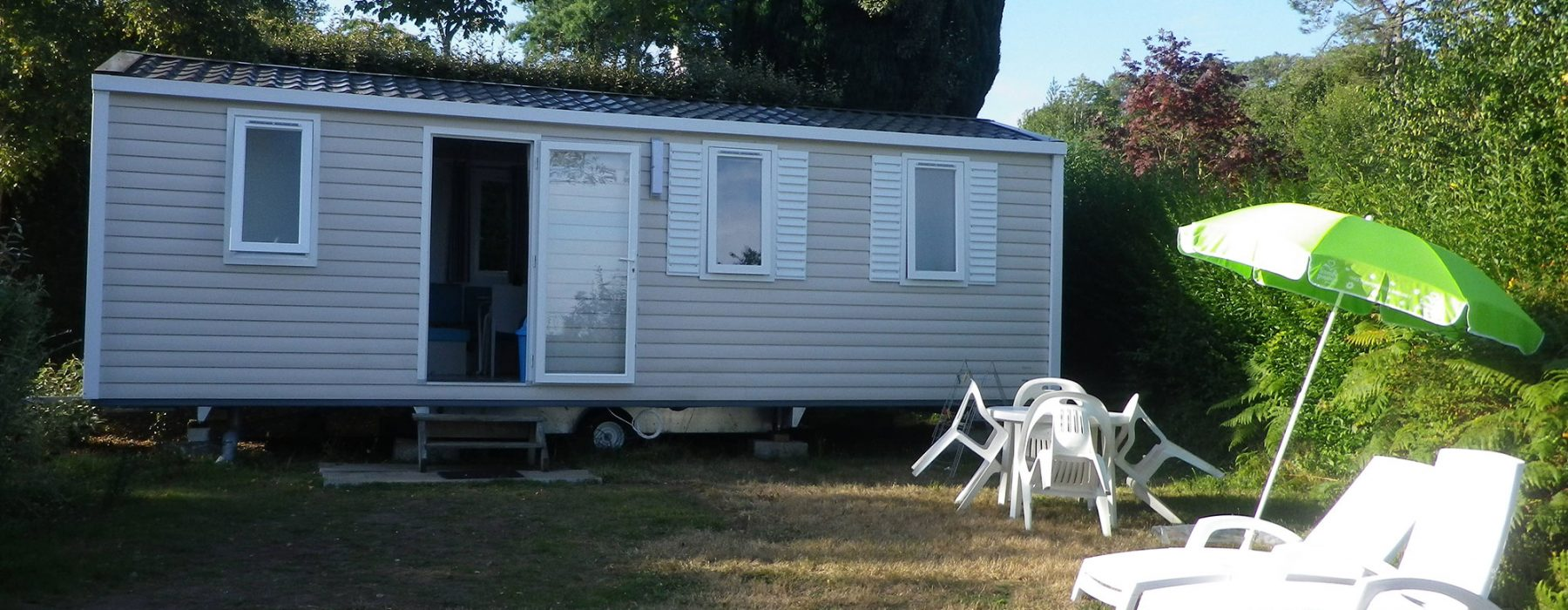 Location mobil-home 2 chambre Camping Crozon