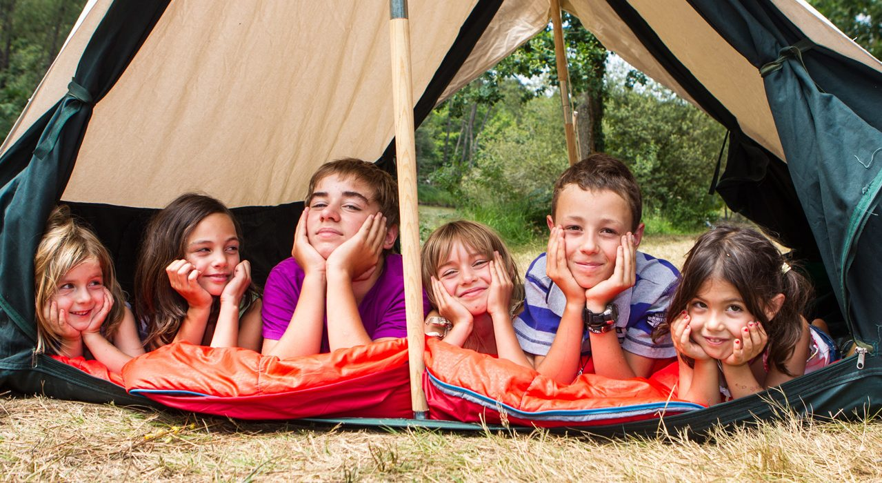 Enfants au Camping Crozon Le Panoramic